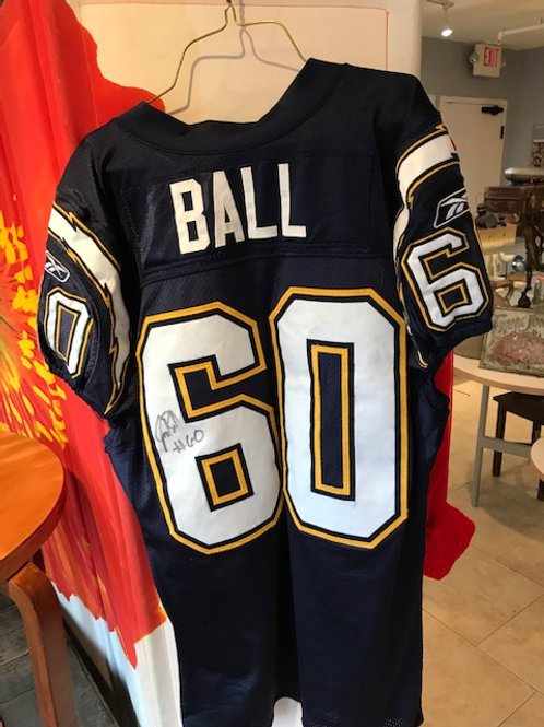 NFL Game used and signed Jersey
