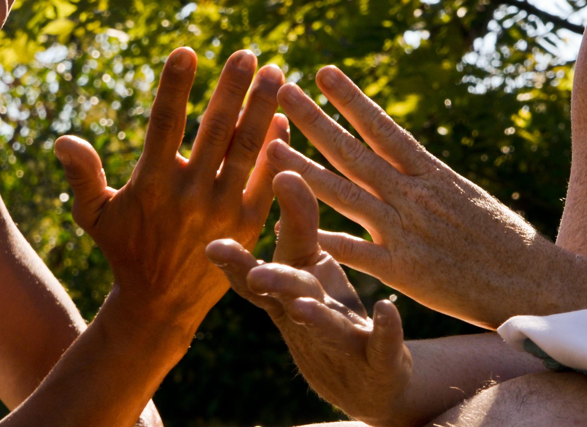 massage 4 mains