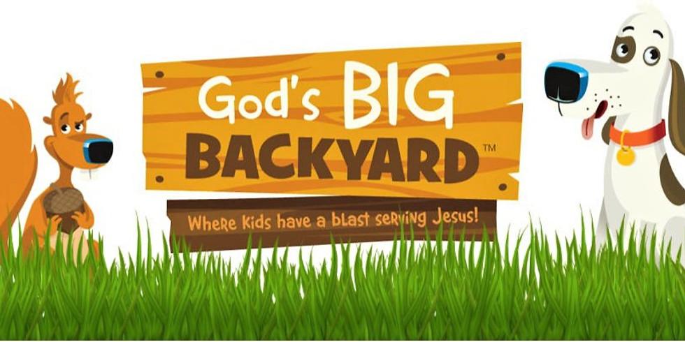 GODS BIG BACKYARD