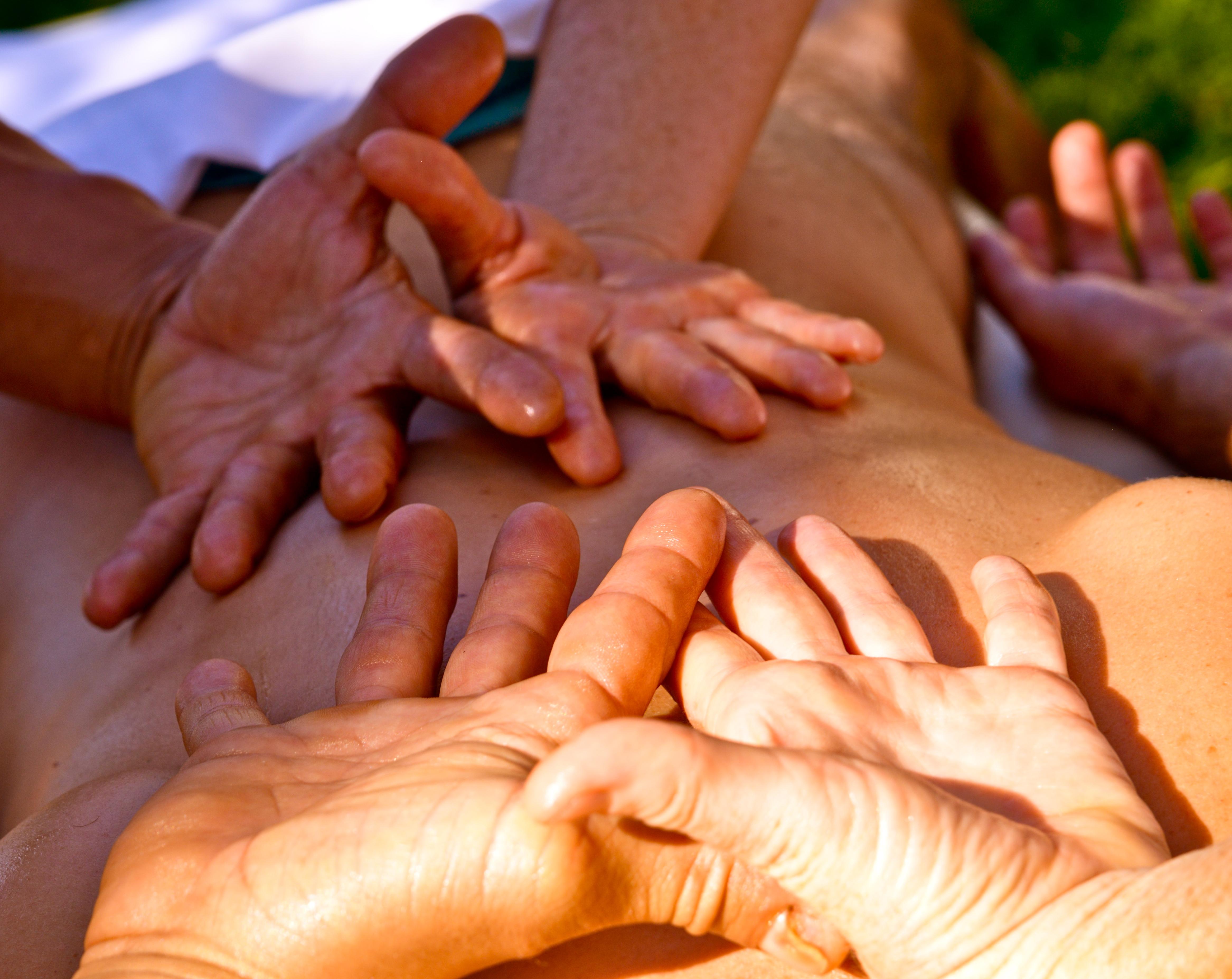 massage 4 mains Var