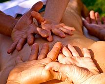 Massage à 4 mains, var, kahuna siri, lomi lomi, lâcher prise, massage hawaien, dracenie