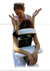 massage chaise, massage assis, siri, kahuna, détente, relaxation var, dracenie massage