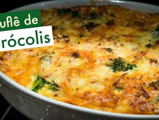 Suflê de Brócolis - Prático, delicioso e saudável