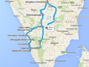 8 - Venture : The Tour of Gods  Own Country, Kerala [Ride 3]