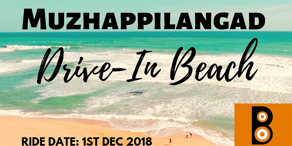Muzhappilangad Drive-In Beach Ride