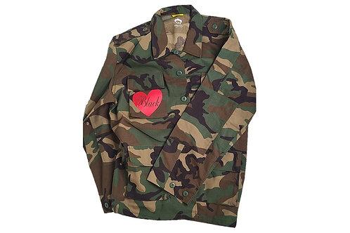 Black Love Camo Jacket