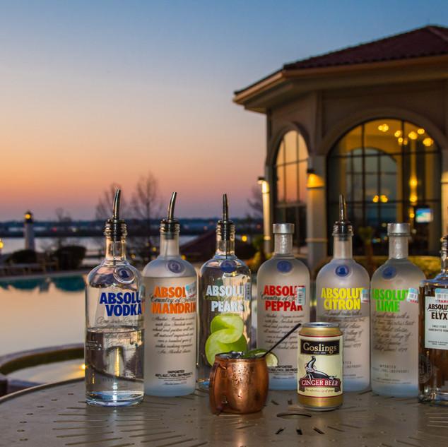 absolut vodka bar