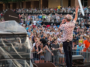 Wildflower Concerts in Richardson Gin Blossoms photography