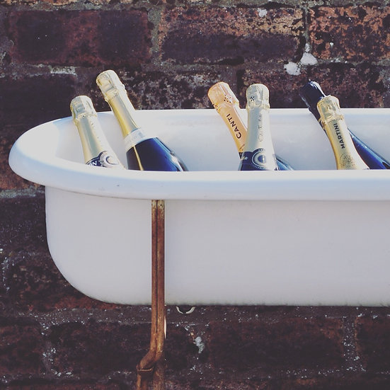 Champagne Ice Bath Front View