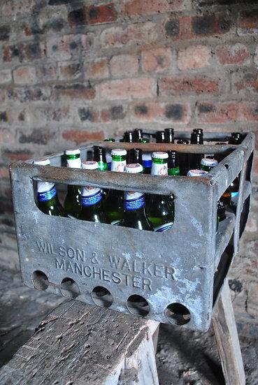 Metal Beer Crate