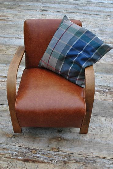 Large Plaid Cushion