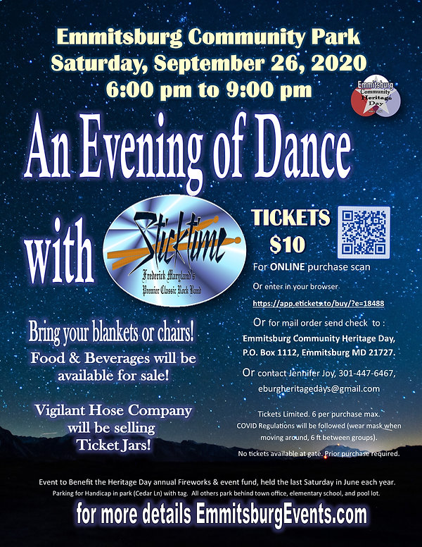 An evening of Dance with Sticktime 2020.