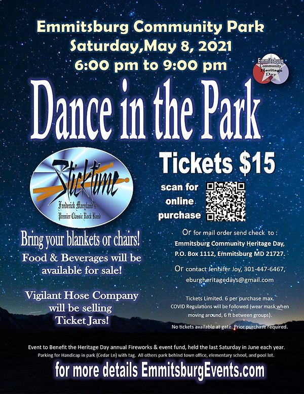 Dance in the Park with Sticktime 2021 fl