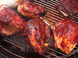 BBQ Chicken Dinner and snacks at the Pavilion-Lions Club