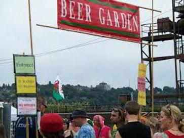 BEER GARDEN SPONSORED BY MORE