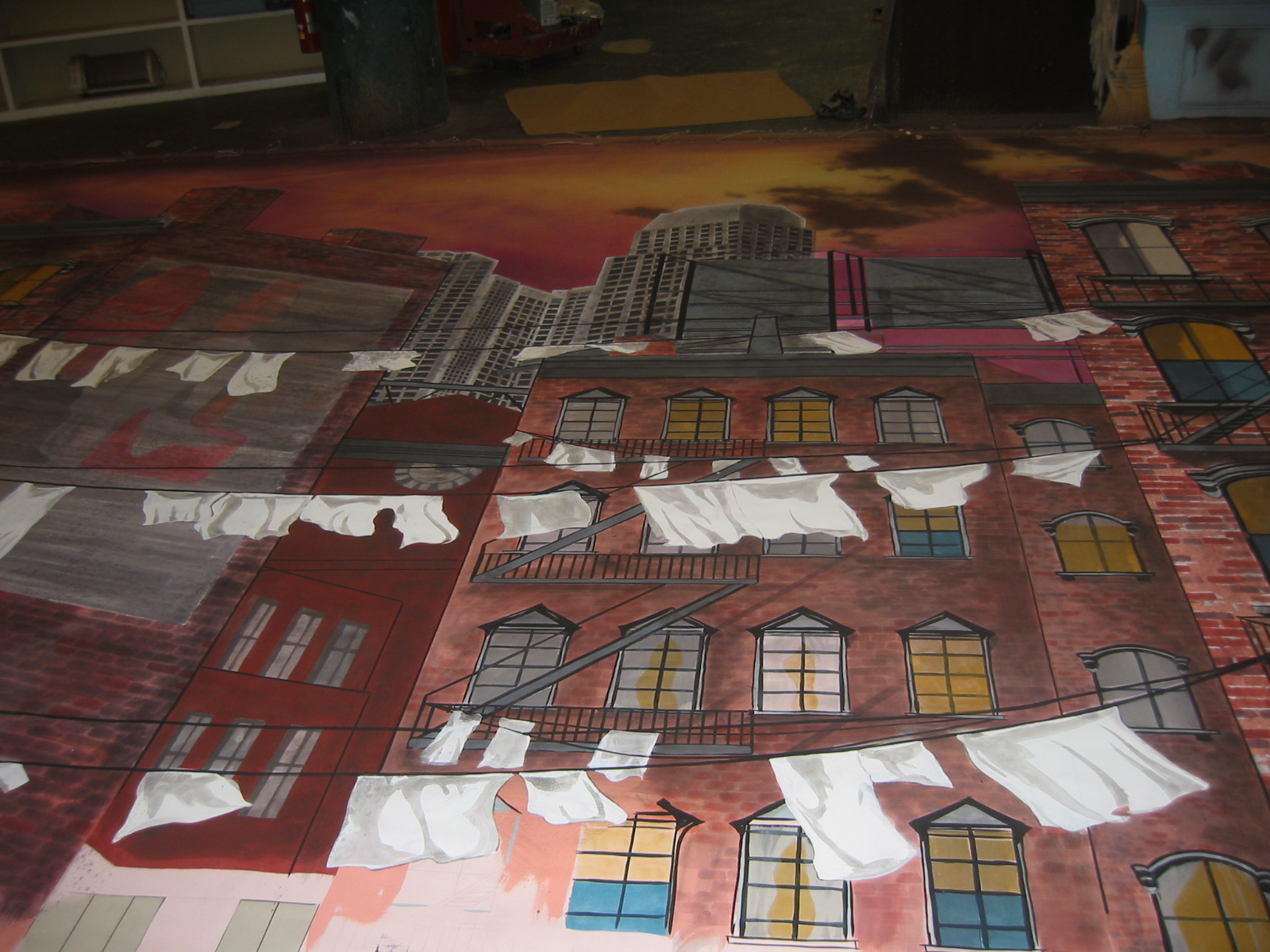 West Side Story backdrops