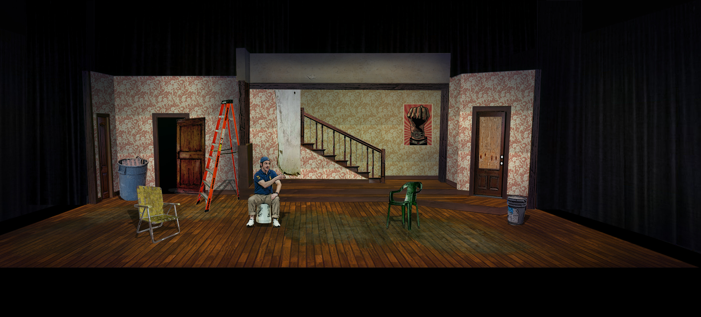Clybourne Park Act 2 Rendering