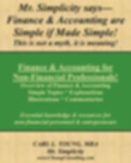 Finance & Accounting for Non-Financial P