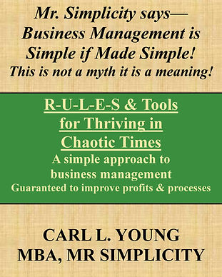 R-U-L-E-S and Tools for Thriving in Chao