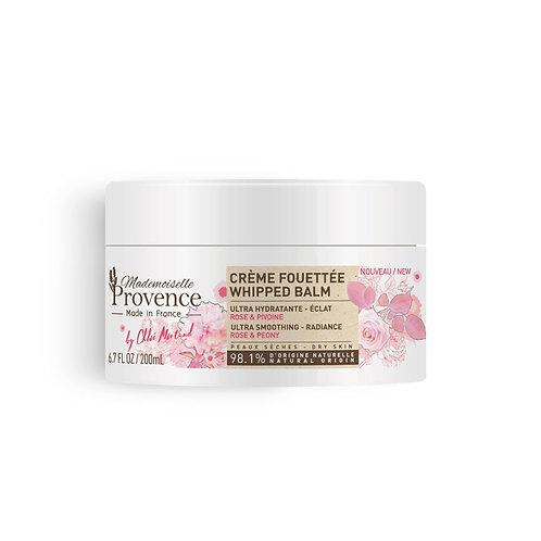 Crème fouettée corps - Rose & Pivoine