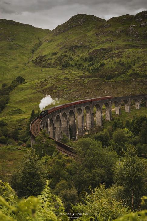 Glenfinnan Viaduct, Scottish Highlands