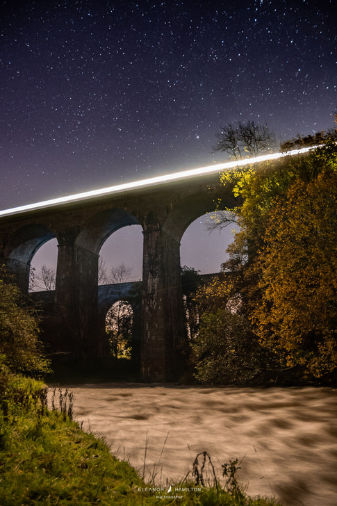 Chirk Aqueduct & Viaduct, Wales