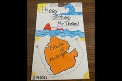 Happy Birthday Mr. Thelen - Shea G