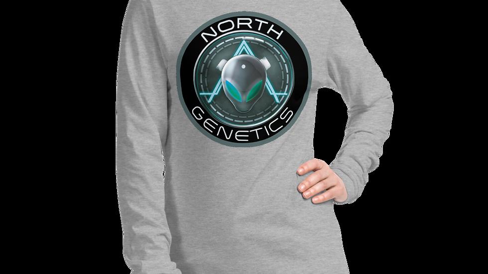 North Genetics Alien Unisex Long Sleeve Tee