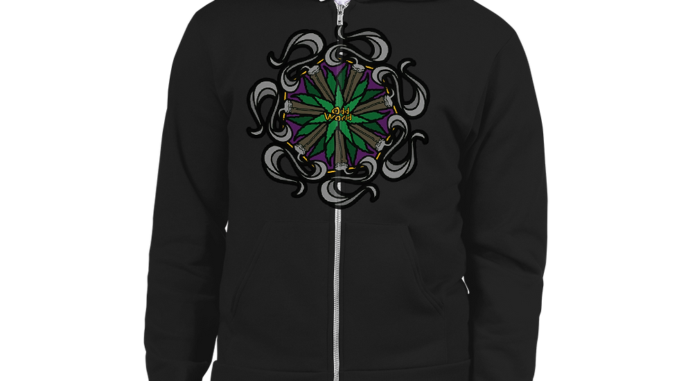 Odd Mandala Hoodie sweater