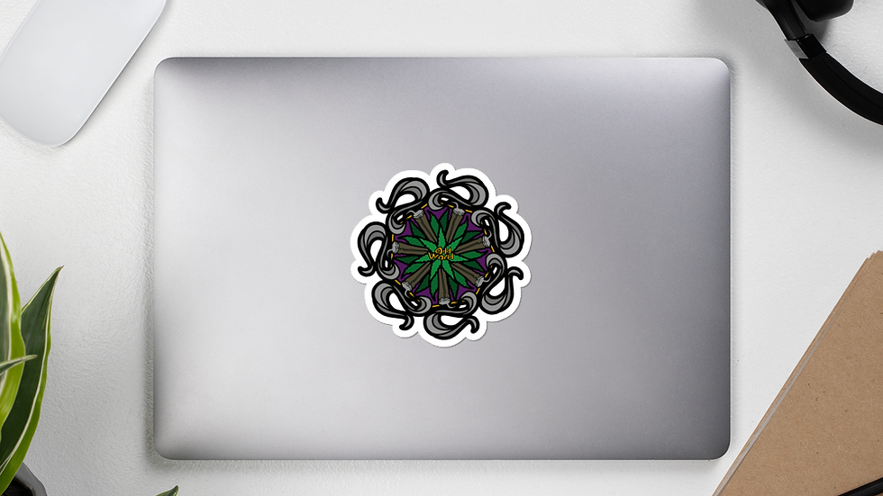 Odd Mandala stickers