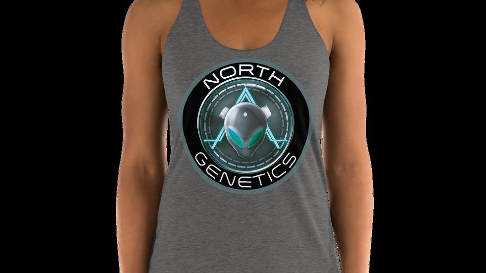 North Genetics Alien Women's Racerback Tank