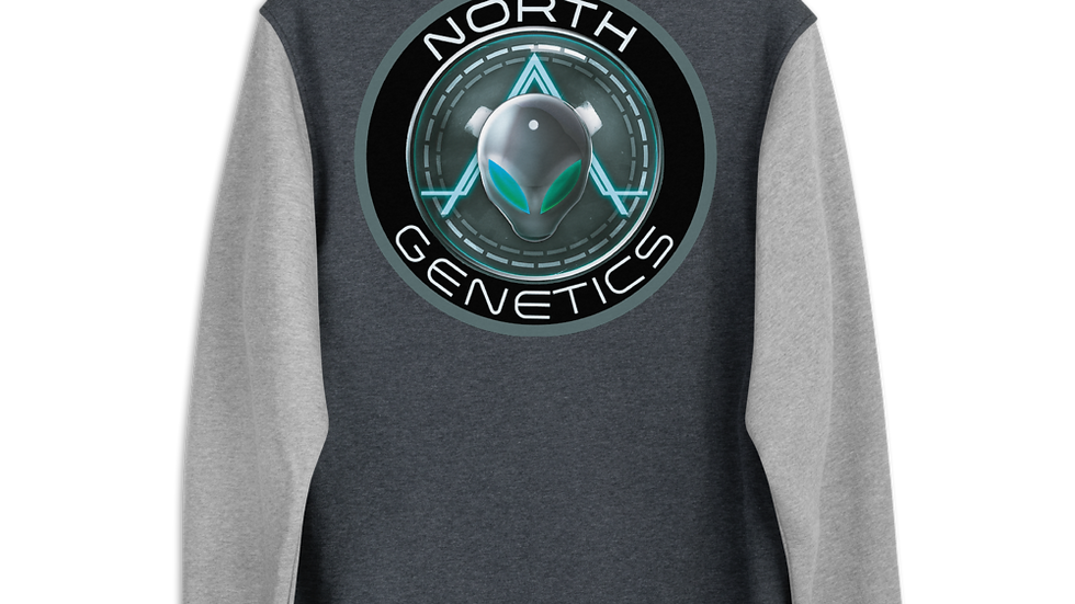 North Genetics Alien Men's Letterman Jacket