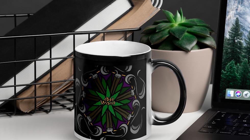 Odd Mandala Glossy Magic Mug
