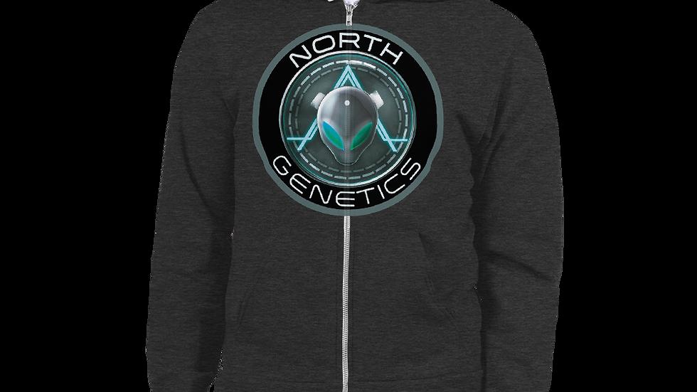 North Genetics Alien Zip Up Hoodie