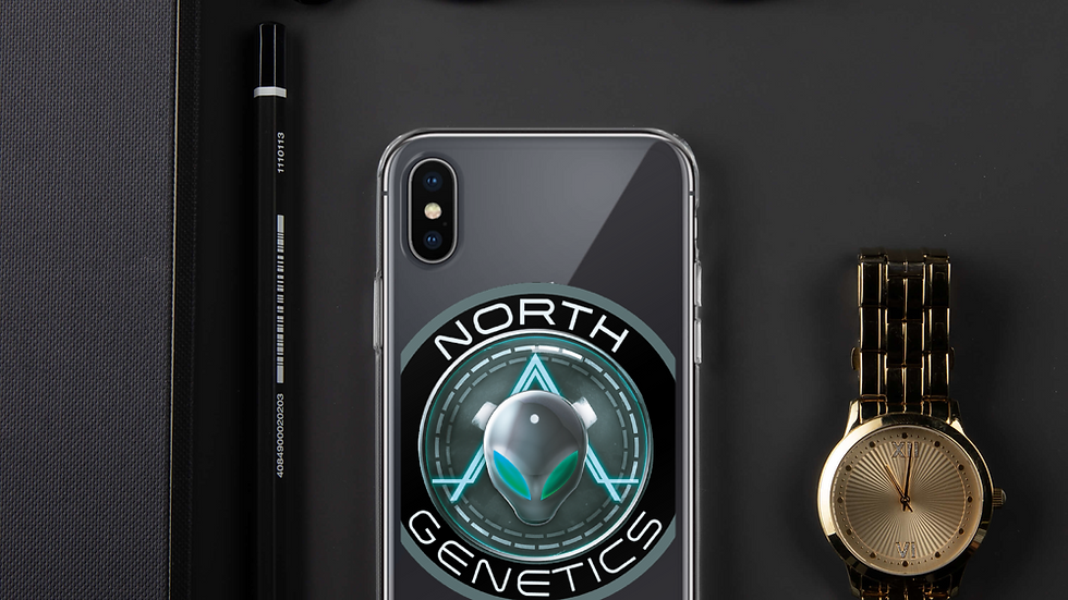 North Genetics Alien iPhone Case