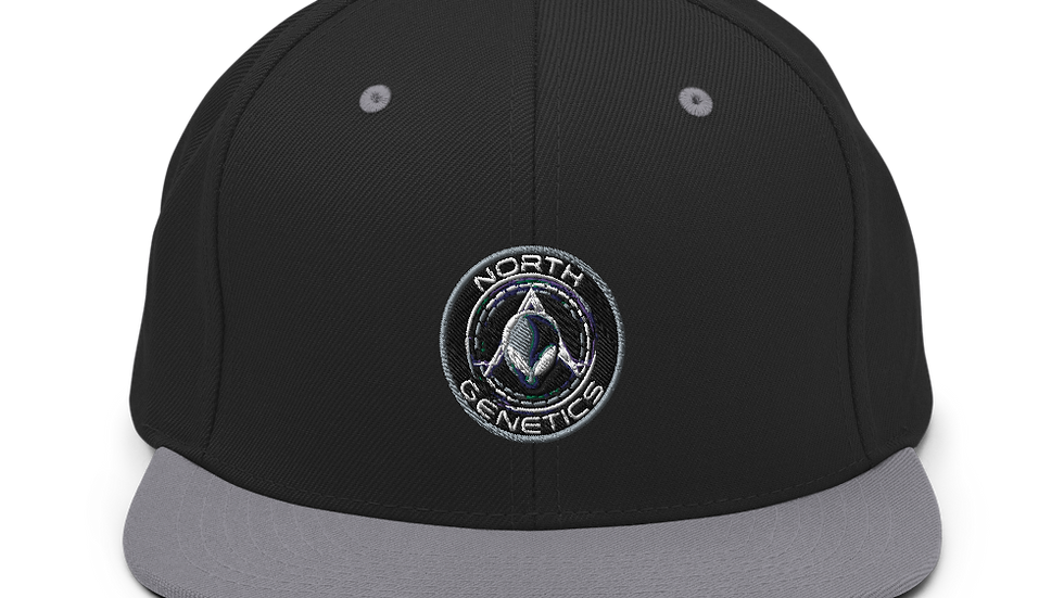 North Genetics Alien Snapback Hat