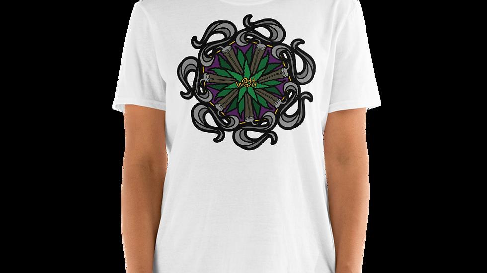 Odd Mandala Short-Sleeve Unisex T-Shirt