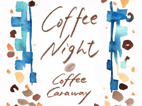 2016.10.1(sat ) coffee night vol.5 at coffee caraway コーヒーと朗読の時間