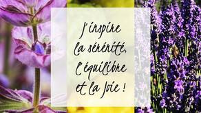 Harmonie Essentielle : Sauge Sclarée, Bergamote, Lavande fine