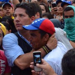 Una parte de #Venezuela sufre y llora