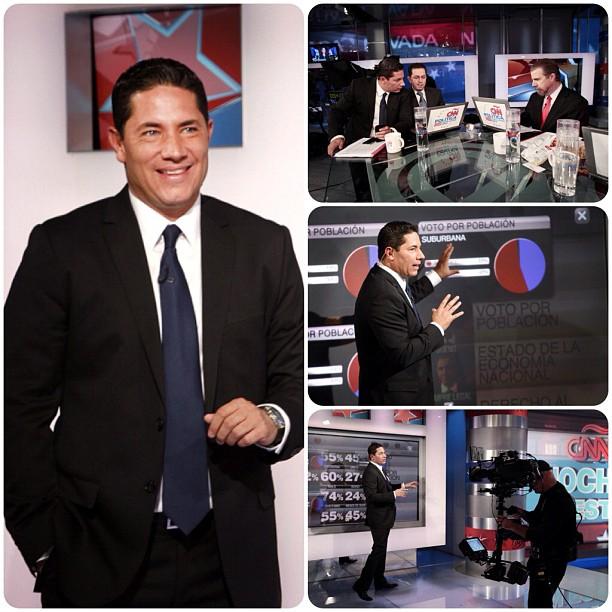 Elecciones #USA 2012 la cobertura _CNNEE gracias por su sintonia y comentarios #RT