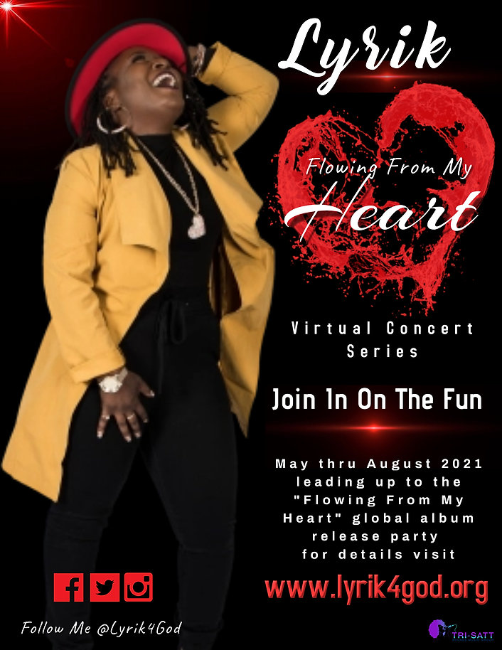 Flowing From My Heart VIRTUAL CONCERT SE