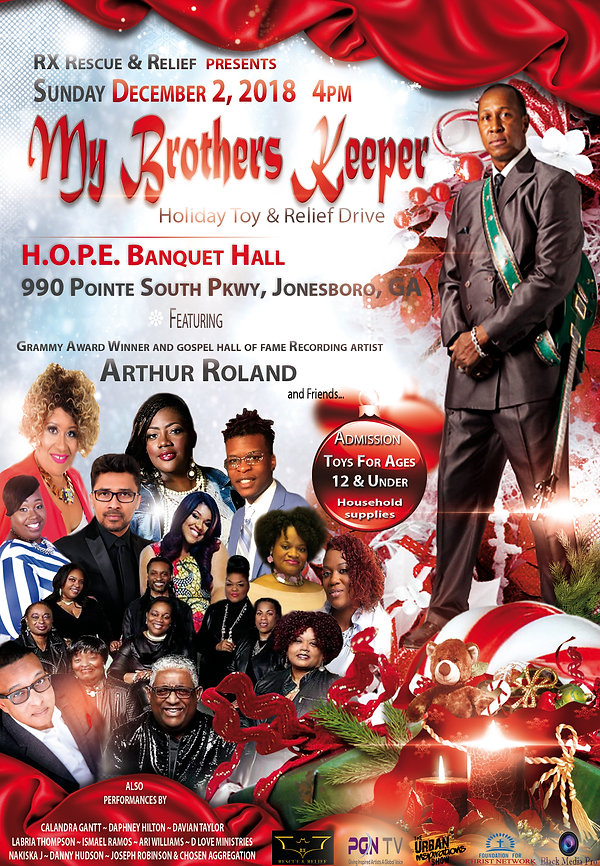 My Brothers Keeper Holiday Relief Drive