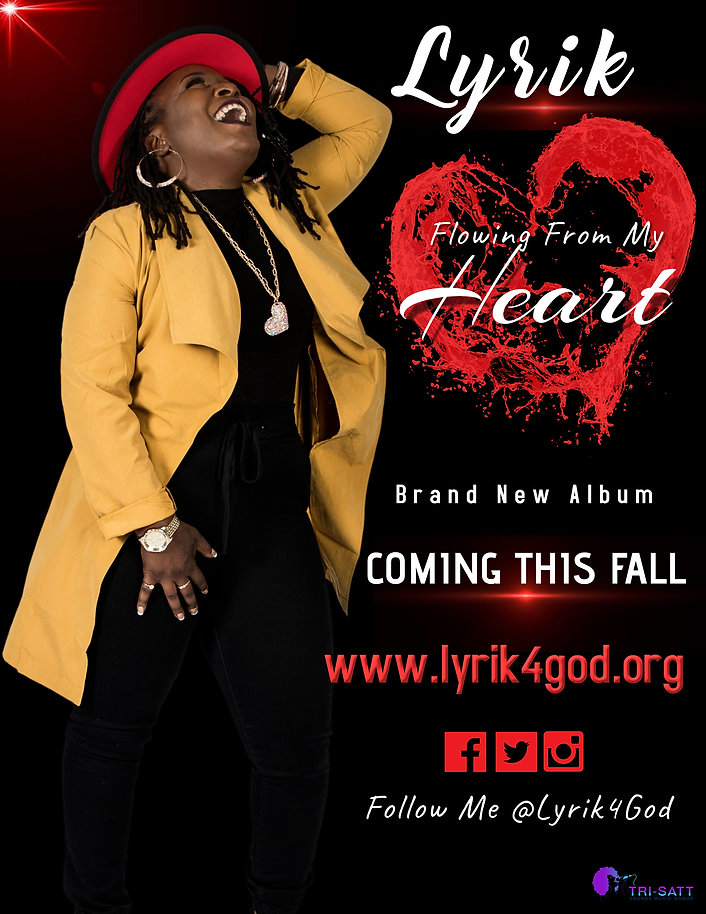 Flowing From My Heart (coming this fall