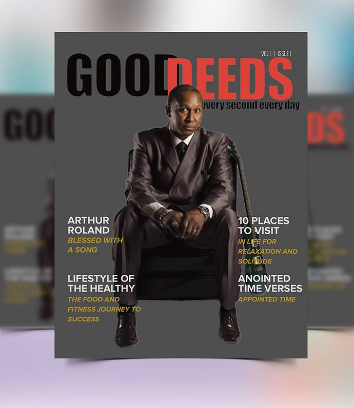 _Arthur Roland Featured on Good Deeds Ma