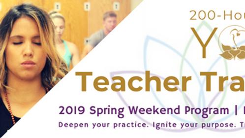 200 Hour Yoga Teacher Training Tuition - 2019 New Bern