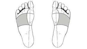 Les émotions dans les pieds, les Poumons : les tristesses