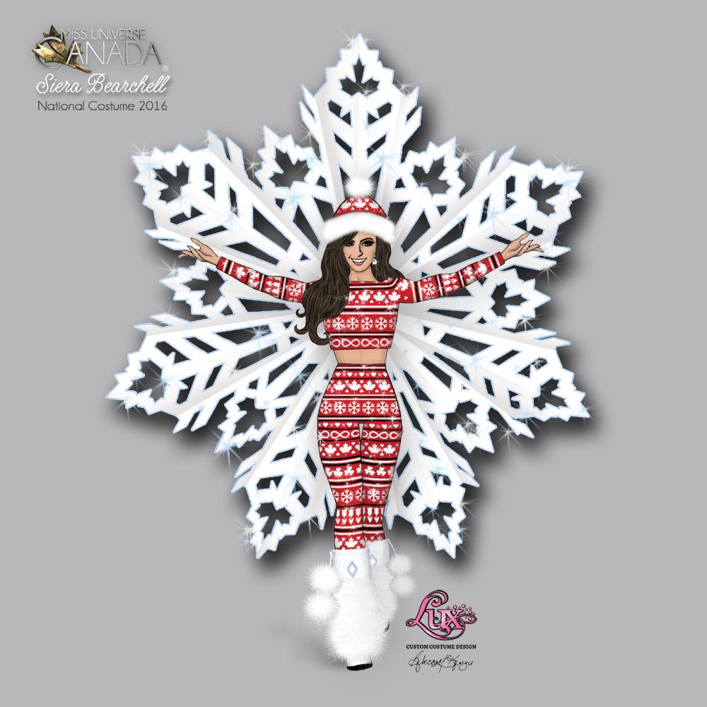 Miss Universe Canada 2016 Costume