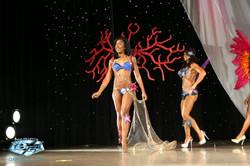 Deborah Weston Coral Princess Lux Theme Wear 2014