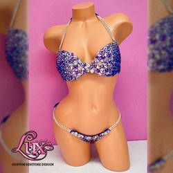 Ashley King bikini proam high key mannequin front